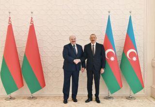 Aleksandr Lukaşenko: Azərbaycan öz milli arzusuna çatmaq yolunda böyük addım atıb
