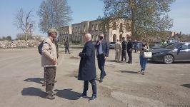 Ukrainian deputy PM visits Azerbaijan's Aghdam district (PHOTO) - Gallery Thumbnail