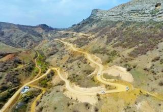 Media reps to get acquainted with construction of road to Azerbaijan's Shusha