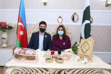 Bakı Ali Neft Məktəbinin məzunu pakistanlı tələbə yoldaşı ilə ailə qurub - Gallery Thumbnail