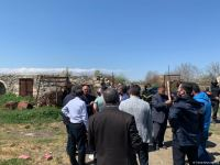Group of journalists visit Azerbaijan's Aghdam district (PHOTO) - Gallery Thumbnail