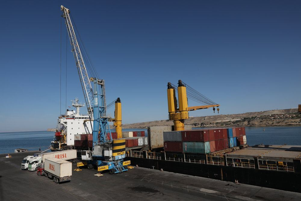 Iran's PMO talks about cargo movements in Dayyer port