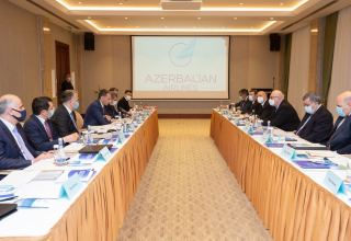 Azerbaijan Airlines' Supervisory Board holds first meeting (PHOTO)
