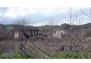 Azerbaijan shows footage from Memer village of Gubadli district (PHOTO/VIDEO)
