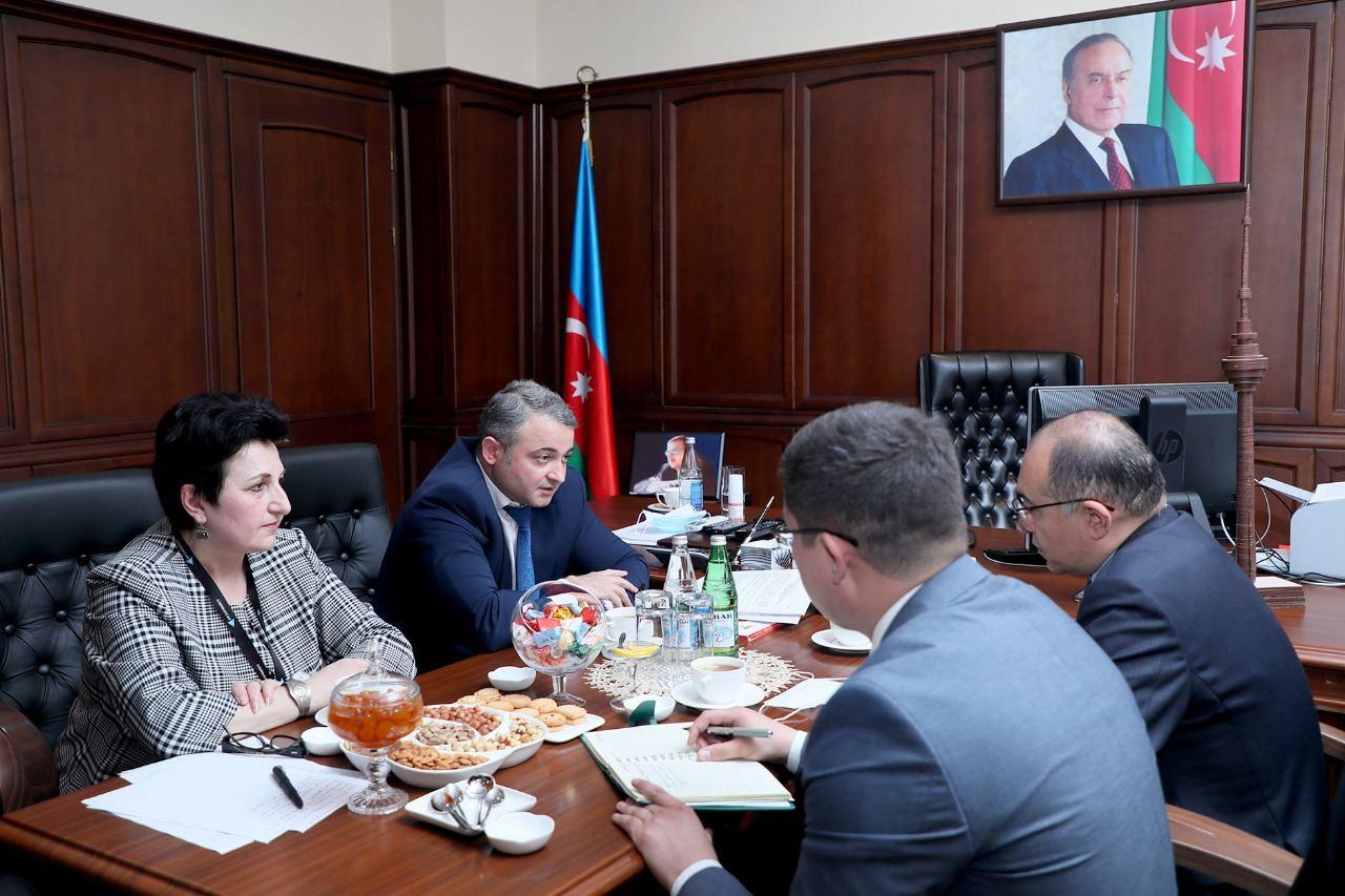 Состоится обмен опытом между журналистами Азербайджана и Узбекистана (ФОТО) - Gallery Image