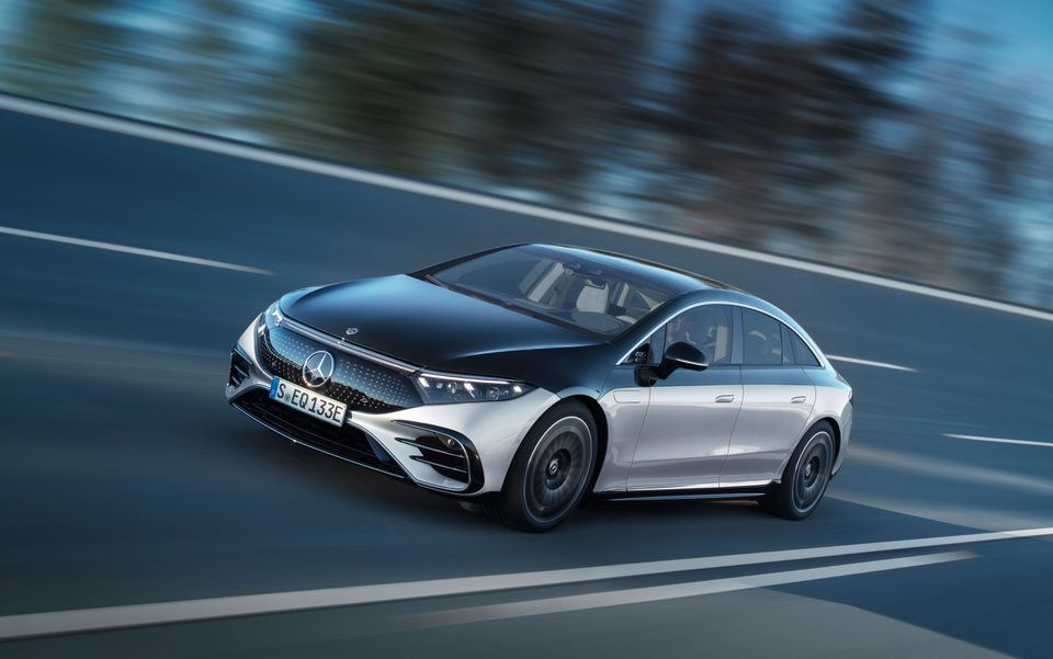 Daimler AG  unveiled the electric Mercedes-Benz S-Class luxury sedan (PHOTO) - Gallery Image