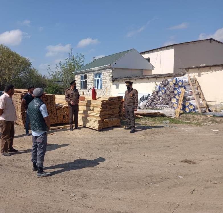 МЧС Азербайджана восстанавливает пожарные емкости в Тертере (ФОТО)