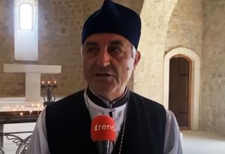 Armenia falsified Caucasian Albania temples in Azerbaijan - rep of religious community