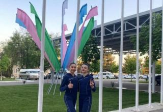 Azerbaijani gymnasts take part in World Cup in Uzbekistan's Tashkent