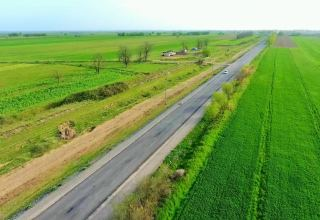 Work on Azerbaijan's Aghjabadi-Khojavand highway to wrap up soon (PHOTO)