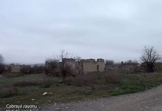 Azerbaijan shows footage from Mehdili village of Jabrayil district (VIDEO)