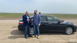 Visit of Israeli journalists to Azerbaijan's Aghdam district ends (PHOTO) - Gallery Thumbnail