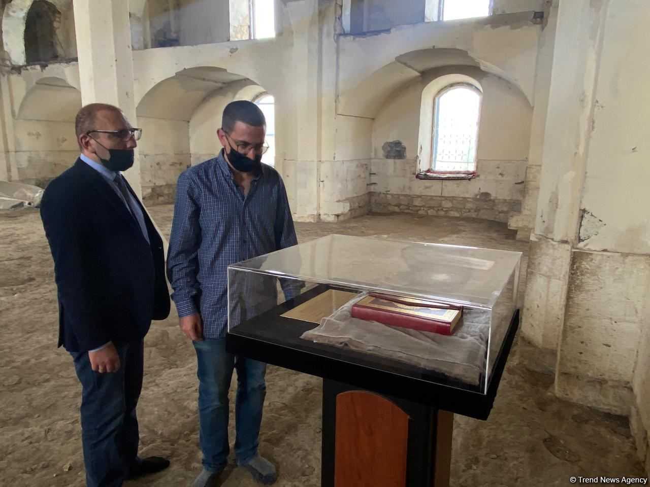 Завершилась поездка израильских журналистов в Агдам (ФОТО) - Gallery Image