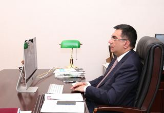 Baku Higher Oil School organized a webinar on the topic 'Higher Education and Research in the Post-COVID Period' (PHOTO)