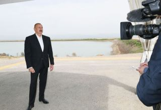 I hope that draft version of master plan of city of Aghdam will be submitted by end of May - President Aliyev