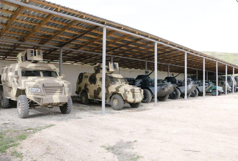 В Зангиланском районе открылась  воинская часть погранслужбы Азербайджана (ФОТО) - Gallery Image