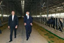 President Ilham Aliyev attends inauguration of Azersun Shamakhi Agropark in Hajigabul (PHOTO) - Gallery Thumbnail