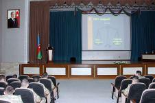 МККК при поддержке Минобороны Азербайджана организовал семинар для курсантов военного училища (ФОТО/ВИДЕО) - Gallery Thumbnail