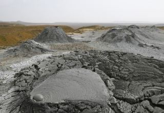 Building of Azerbaijan's Mud Volcanoes Tourism Complex to look like crater from above