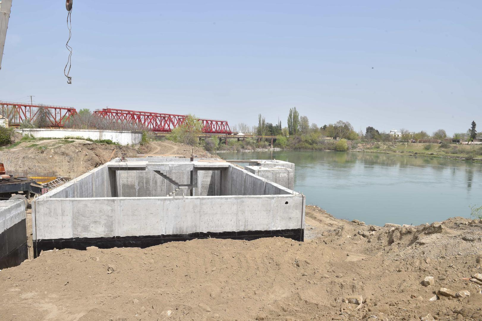 В городе Евлах улучшается инфраструктура  водоснабжения (ФОТО) - Gallery Image