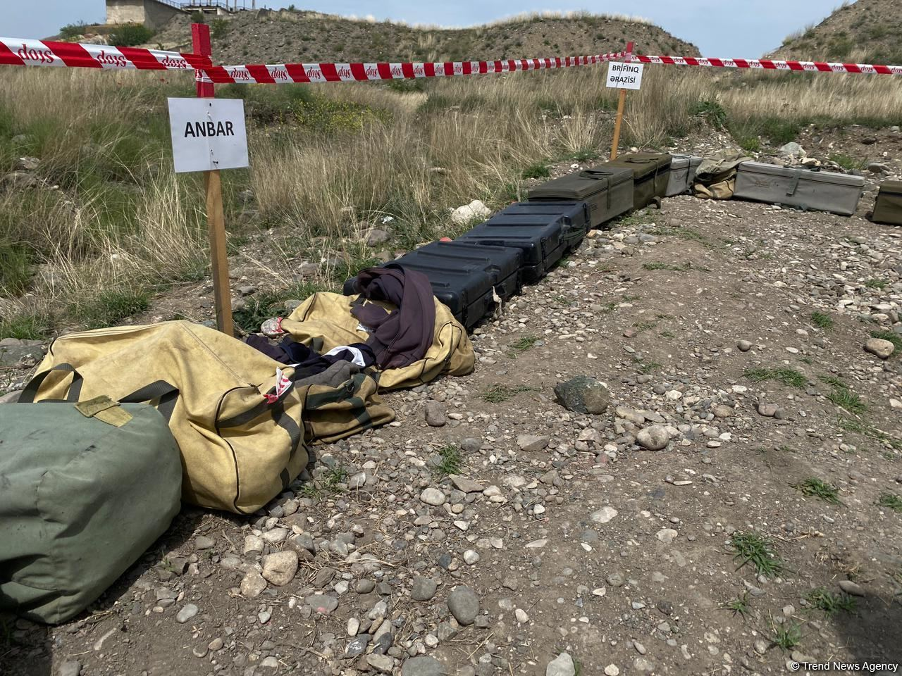 Суговушан и Талышкенд очищаются от мин для строительства ЛЭП (ФОТО) - Gallery Image