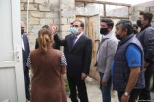 Restoration of houses damaged by Armenian shelling starts in Azerbaijan's Ganja (PHOTO) - Gallery Thumbnail
