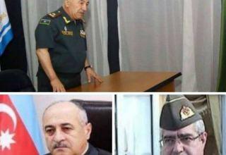 Три генерала азербайджанской армии уволены в запас