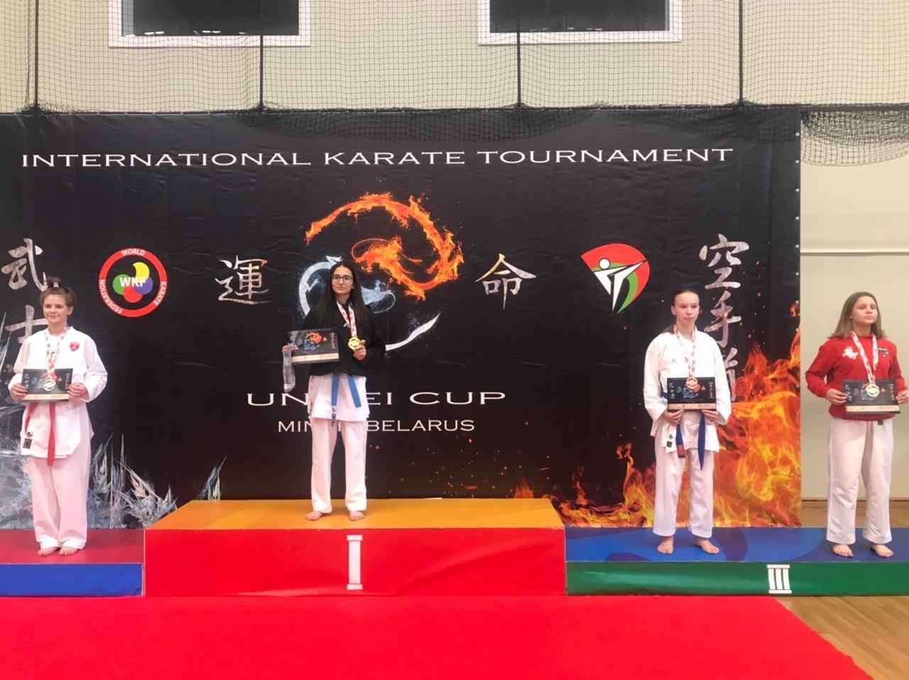 Azərbaycan karateçiləri Beynəlxalq turnirində 22 mükafat qazandı (FOTO) - Gallery Image