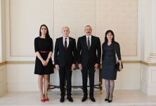 Azerbaijani president receives credentials of newly appointed Serbian ambassador (PHOTO) - Gallery Thumbnail