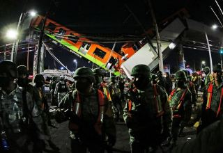 Death toll in Mexico City metro overpass collapse rises to 26