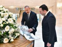 Prezident İlham Əliyev Gürcüstanın Baş nazirini qəbul edib (FOTO/VİDEO) (YENİLƏNİB) - Gallery Thumbnail