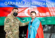 Еще 2 ветерана Отечественной войны, отправленные на лечение в Турцию, вернулись в Азербайджан  (ФОТО) - Gallery Thumbnail