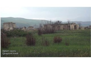 Azerbaijan shows footage from Garapirimli village of Aghdam district (PHOTO/VIDEO)
