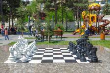 Bakıda Milli Qəhrəmanın adını daşıyan park yenidən qurulub (FOTO) - Gallery Thumbnail