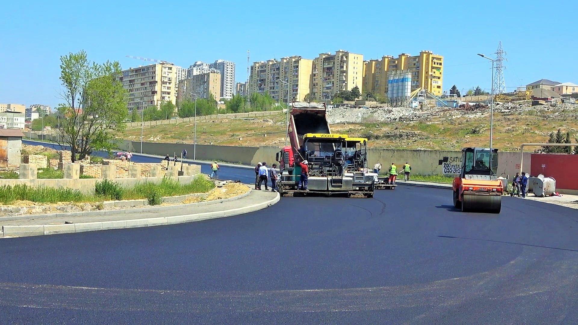 В одном из районов Баку отремонтируют проезжую часть ряда улиц (ФОТО) - Gallery Image