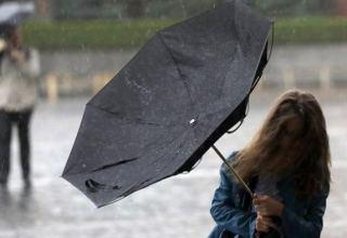 Завтра в Баку ожидается дождь