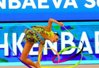 World Cup competitions at Baku National Gymnastics Arena continue (PHOTO)