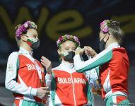 Milli Gimnastika Arenasında bədii gimnastika üzrə Dünya Kubokunda mükafatlandırma mərasimi keçirilib (FOTO) - Gallery Thumbnail