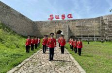 76th anniversary of Victory in Great Patriotic War celebrated in Shusha (PHOTO) - Gallery Thumbnail