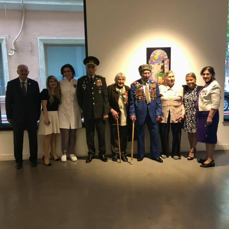 Gazelli Group congratulates Second World War veterans in its own unique way (PHOTO) - Gallery Image