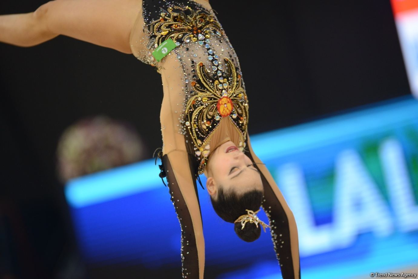 Final day of Rhythmic Gymnastics World Cup starts in Baku - Azerbaijani graces competing for medals (PHOTO) - Gallery Image