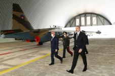 Prezident İlham Əliyev Əlahiddə Ümumqoşun Ordunun hərbi aerodromunun açılışında iştirak edib (FOTO) (YENİLƏNİB) - Gallery Thumbnail