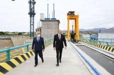 Prezident İlham Əliyev Ordubad Su Elektrik Stansiyasının tikintisi ilə tanış olub (FOTO) (YENİLƏNİB) - Gallery Thumbnail