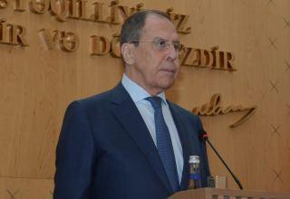 Россия высоко оценивает работу трехсторонней группы в составе вице-премьеров  трех стран – Лавров