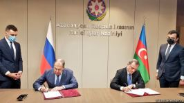 FMs of Azerbaijan, Russia sign plan of consultations for 2021-2022  (PHOTO) - Gallery Thumbnail