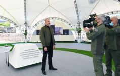 President Ilham Aliyev lays foundation stone for new mosque in Shusha (PHOTO) - Gallery Thumbnail
