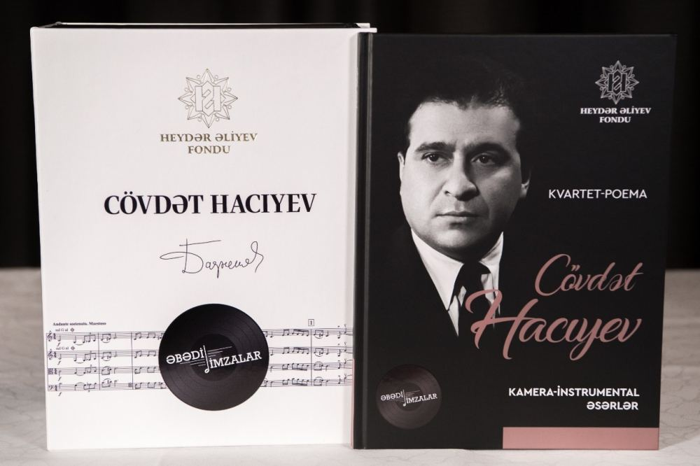 В Шуше презентован сборник нот произведений азербайджанских композиторов, изданный Фондом Гейдара Алиева (ФОТО/ВИДЕО) - Gallery Image