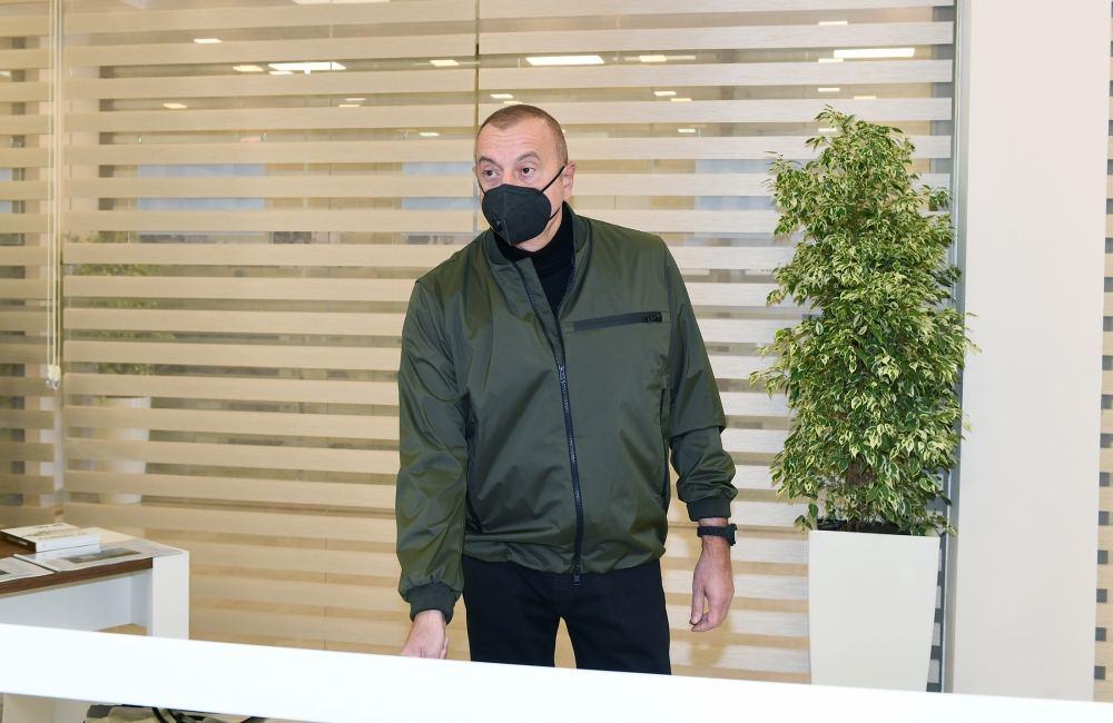 Президент Ильхам Алиев и Первая леди Мехрибан Алиева приняли участие в открытии подстанции «Шуша» (ФОТО) - Gallery Image