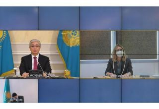Head of Kazakhstan holds meeting with World Bank Vice President for Europe and Central Asia