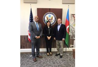 US ambassador to Azerbaijan, USAID director meet with Azerbaijani MP
